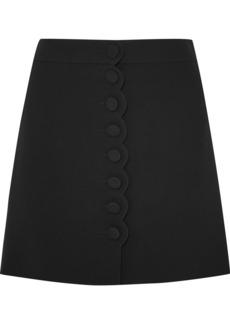 Chloé Scalloped Cady Mini Skirt