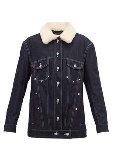 Chloé Shearling denim jacket