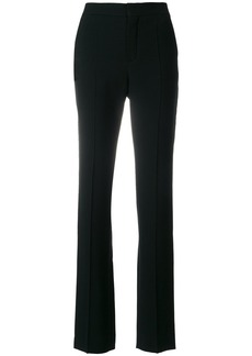 Chloé side-stud trousers - Black