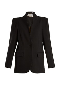 Chloé Single-breasted stretch-wool blazer