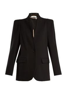 Chloé Single-breasted stretch-wool blazer