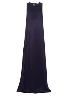 Chloé Sleeveless silk-satin blend gown