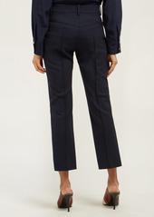 Chloé Slim-leg wool-blend trousers