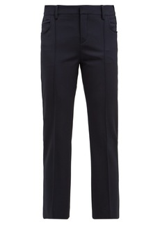 Chloé Slim-leg wool-blend trousers
