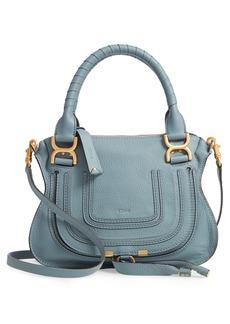 Chloé Small Marcie Calfskin Leather Satchel