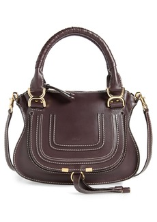 Chloé Small Marcie Calfskin Leather Satchel