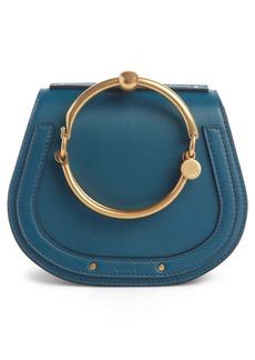 Chloé Small Nile Bracelet Leather Crossbody Bag