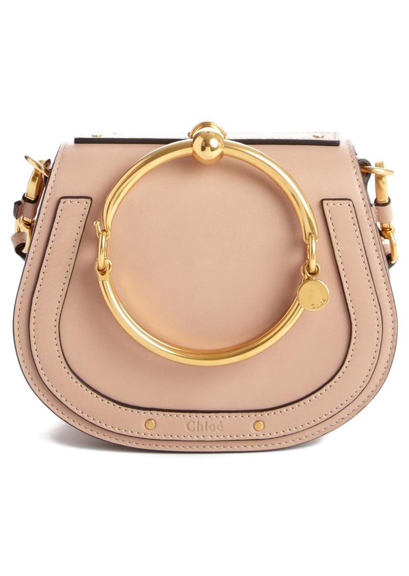 fe720ab62fe0 Chloé Chloé Small Nile Bracelet Leather Crossbody Bag