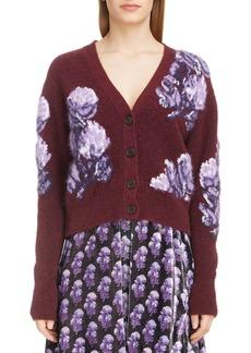 Chloé Solar Floral Jacquard Sweater