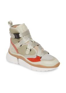 Chloé Sonnie High Top Sneaker (Women)