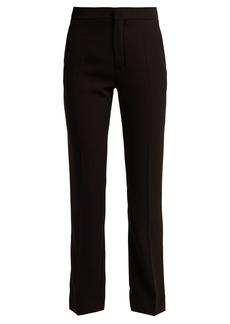 Chloé Straight-leg crepe trousers