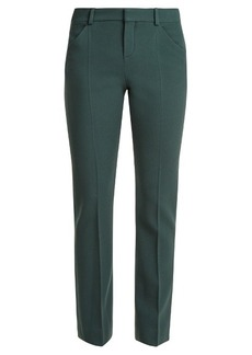 Chloé Straight-leg stretch-wool trousers