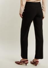 Chloé Straight-leg wool-blend trousers