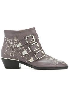 Chloé Susanna ankle boots - Grey