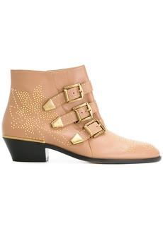 Chloé Susanna ankle boots - Nude & Neutrals