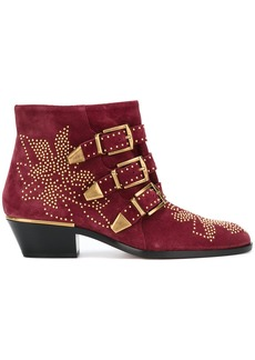 Chloé Susanna ankle boots - Red