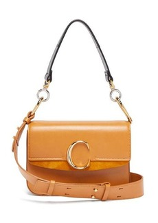 Chloé The C leather shoulder bag