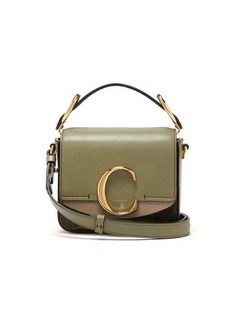 Chloé The C mini leather cross-body bag