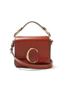 Chloé The C mini leather cross-body bag