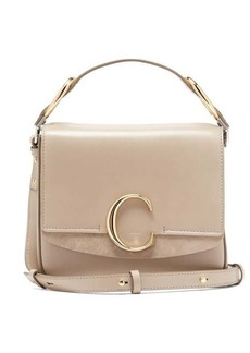 Chloé The C small leather shoulder bag