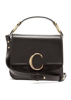Chloé The C small square leather cross-body bag