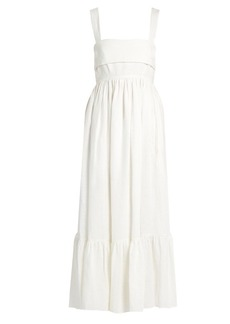 Chloé Tie-back linen dress