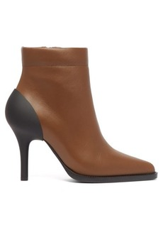 Chloé Tracy leather and rubber ankle boots
