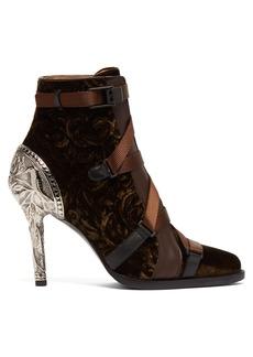 Chloé Tracy velvet ankle boots