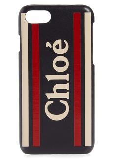 Chloé Vick Leather iPhone 8 Plus Case