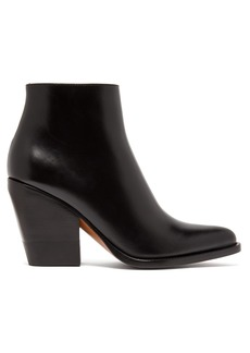 Chloé Western leather boots