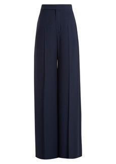Chloé Wide-leg cady trousers