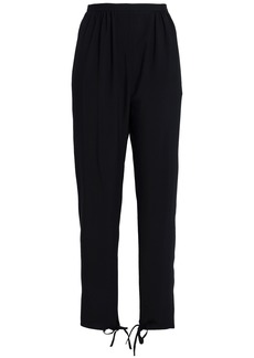 Chloé Woman Cady Tapered Pants Black