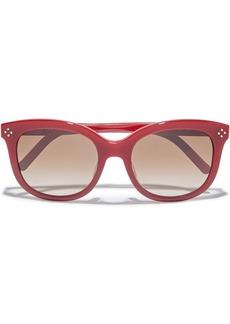 Chloé Woman D-frame Acetate Sunglasses Red