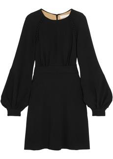 Chloé Woman Crepe Mini Dress Black