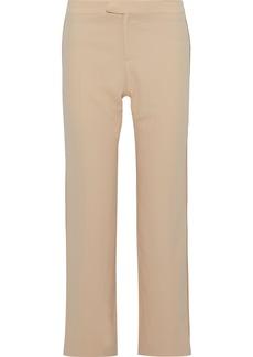 Chloé Woman Crepe Straight-leg Pants Pastel Orange