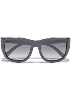 Chloé Woman Dallia D-frame Acetate Sunglasses Anthracite