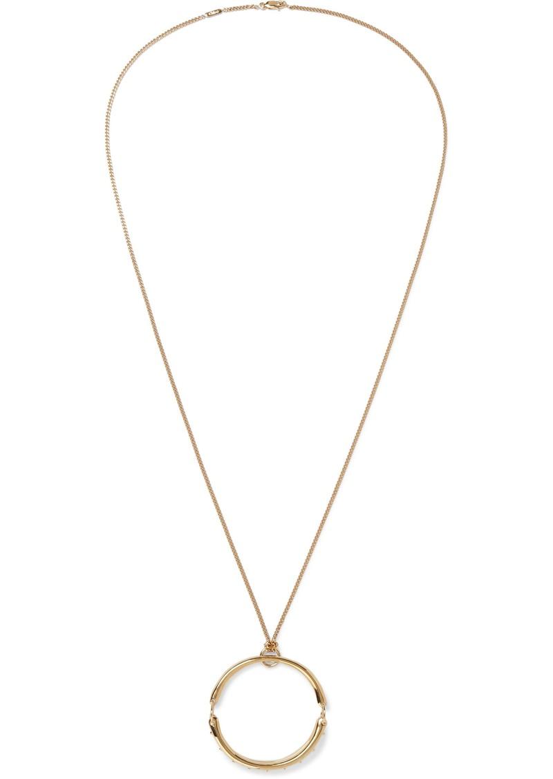 Chloé Woman Gold-tone Necklace Gold