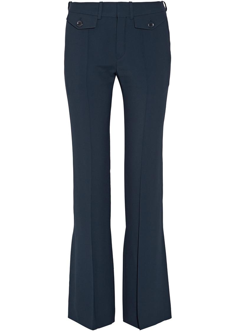 Chloé Woman Cady Bootcut Pants Storm Blue