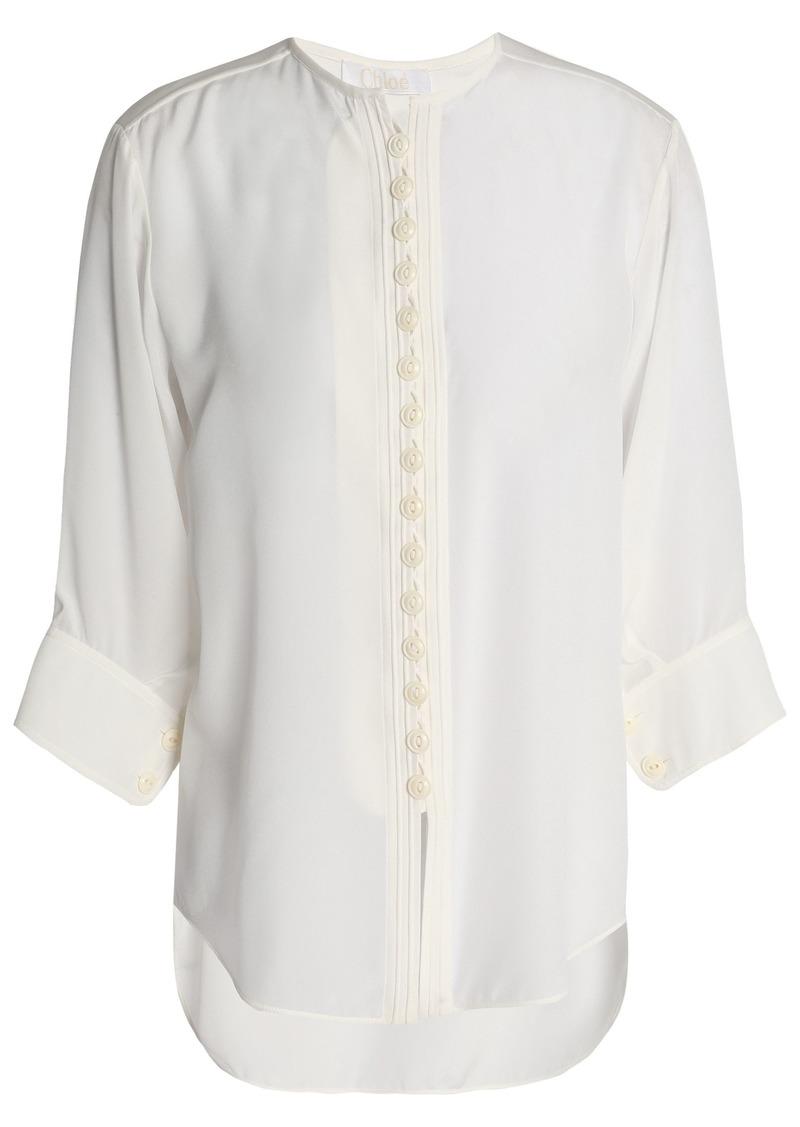 Chloé Woman Silk Shirt Ivory