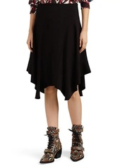 Chloé Women's Cady Handkerchief-Hem Midi-Skirt