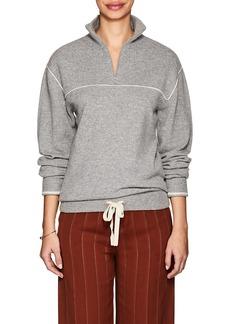 Chloé Women's Cashmere Quarter-Zip Sweater