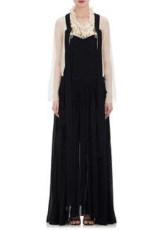 Chloé Women's Chiffon Sleeveless Maxi Dress