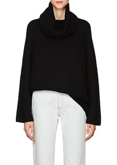 Chloé Women's Chunky Rib-Knit Wool Turtleneck Sweater