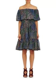 Chloé Women's Cotton-Blend Off-The-Shoulder Dress