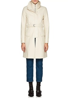 Chloé Women's Crackled Leather Layered Coat
