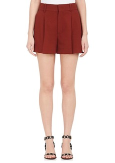 Chloé Women's Crepe High-Rise Shorts