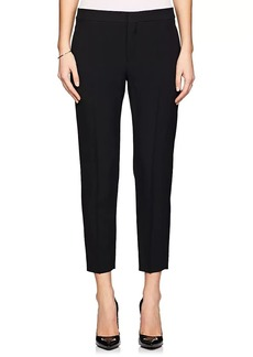 Chloé Women's Crepe-Textured Twill Trousers