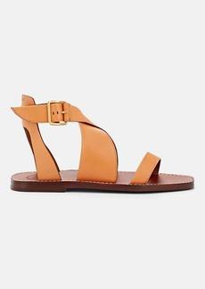 Chloé Women's Crisscross-Strap Leather Sandals