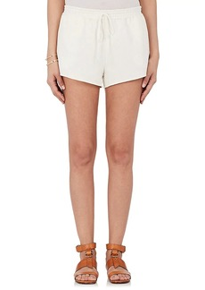 Chloé Women's Drawstring-Waist Cotton-Linen Shorts