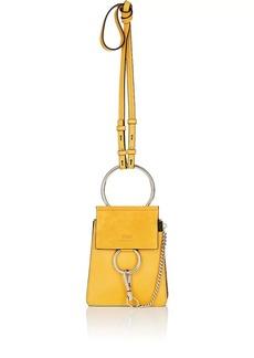 Chloé Women's Faye Mini Leather & Suede Bag - Yellow